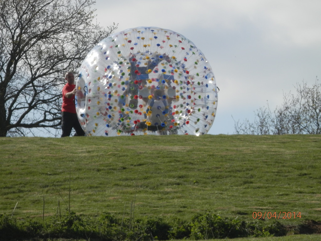 Pushing the Zorbing Banner