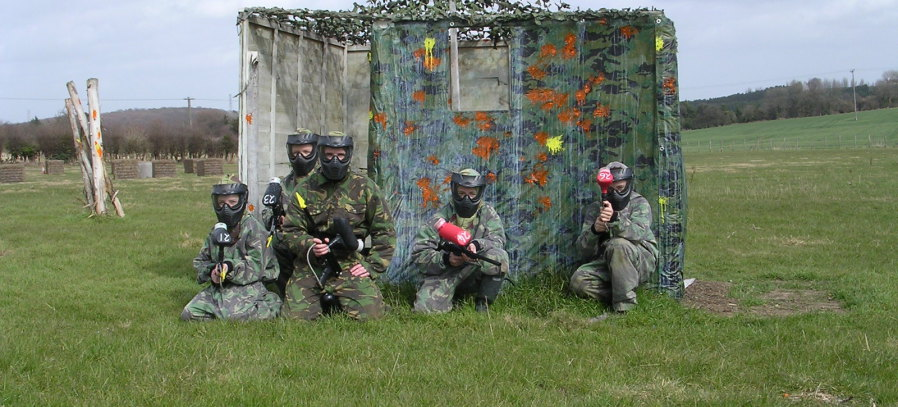 Junior Paintball Banner