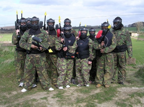 Main Paintball in Kent Banner